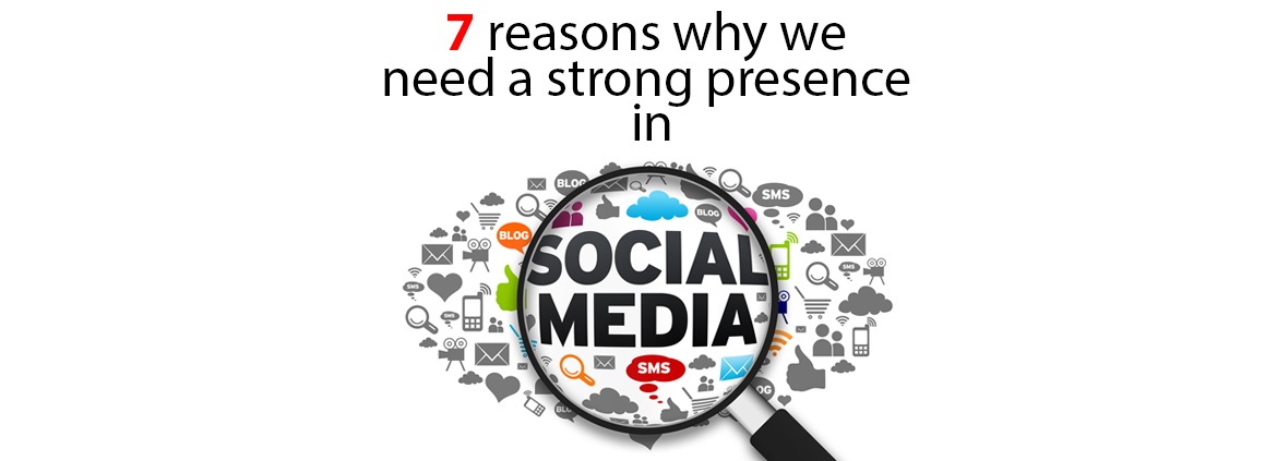 7 Reasons to use Social Media